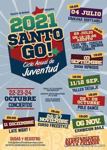 El Ayuntamiento de Santo Domingo de la Calzada presenta su ciclo anual de juventud Santo Go! - Radio Haro - Cadena SER