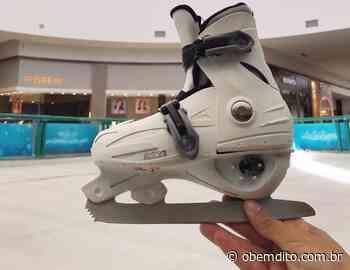 Shopping Palladium Umuarama inaugura pista de patinação no gelo - OBemdito