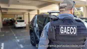 Gaeco Operação Metástase: duas pessoas são presas nesta quarta-feira em Umuarama 16/06/2021 às - ® Portal da Cidade | Umuarama