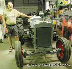 Antique tractor enthusiast prepares for Hungry Hollow | Free News | news-shield.com - News-shield