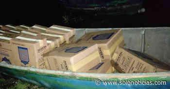 Interceptan a contrabandistas de cigarros en Metapán, Santa Ana - Solo Noticias