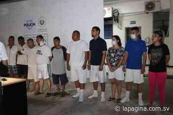 Operativo logra la captura de 21 pandilleros en Santa Ana - Diario La Página