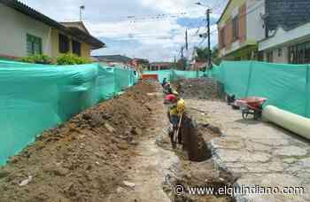 Optimización y expansión de acueducto y alcantarillado adelantan en Calarcá - El Quindiano S.A.S.