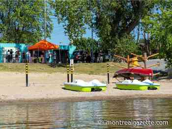Pincourt unveils new park equipment and nautical rentals - Montreal Gazette