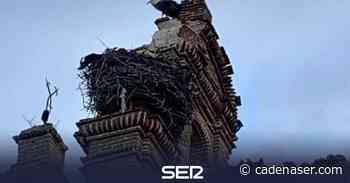 Un rayo daña la iglesia de Castrejón - Cadena SER