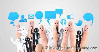 Social media is the future for financial advisors - Financial Planning