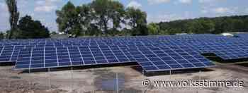 Planung für Solarpark in Genthin schreitet voran - Volksstimme