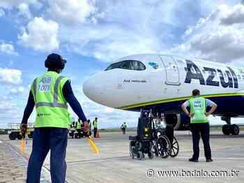 Azul retoma voos entre Juazeiro e o Aeroporto Internacional de Guarulhos, em São Paulo - Badalo