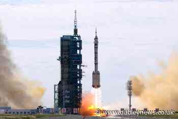 China launches first three-man crew to new space station - Dudley News