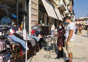 """""""Ripartiamo all'aperto"""": a Legnano lo shopping si sposta fuori dai negozi - LegnanoNews.it"""