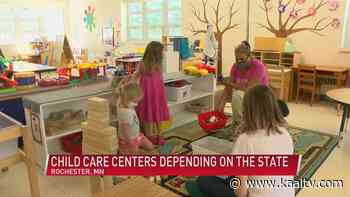 Child care centers depending on state for federal fund allocation - KAAL