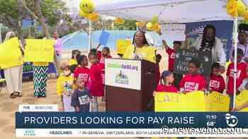 San Diego child care providers seeking help from California - Yahoo News