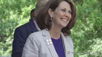 Virginia's first lady visits Blacksburg to highlight child care & agriculture - WDBJ7