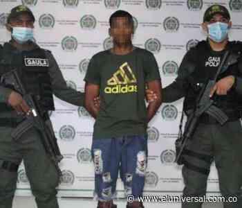 Atrapan en San Onofre a presunto sicario del Clan del Golfo - El Universal - Colombia
