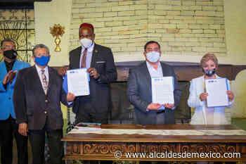 Tepeji firma intención de hermanamiento con New Jersey - Alcaldes de México