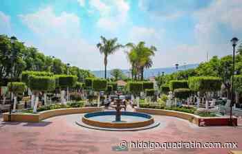 Realizan remodelación al jardín municipal de Tepeji para atraer turismo - Quadratín Hidalgo