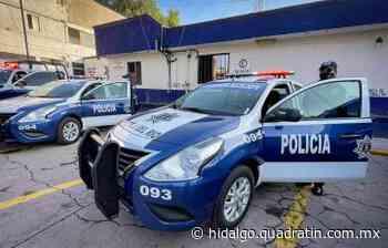 Equipan a policías en Tepeji para fortalecer la seguridad - Quadratín Hidalgo