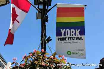 Newmarket to honour York Pride organizer with Main Street rainbow bench - NewmarketToday.ca