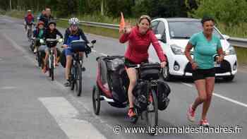 Partis de Bergues, ils vont jusqu'en Espagne, en course à pied et à vélo ! - Le Journal des Flandres