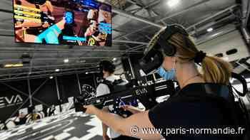 EN IMAGES. À Mont-Saint-Aignan, un terrain de jeu de 500 m² pour s'affronter en réalité virtuelle - Paris-Normandie