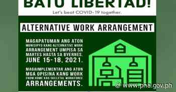 Antique LGU adopts work from home system - pna.gov.ph