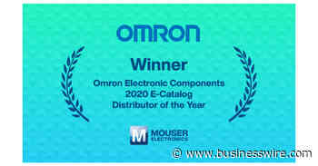 Mouser Electronics Earns E-Catalog Distributor of the Year Award from Omron Electronic Components - Business Wire