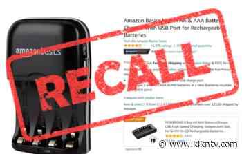 RECALL ALERT: Amazon Basics select electronics devices - KLKN