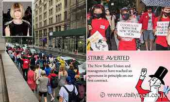 Conde Nast agrees to contract with New Yorker Union