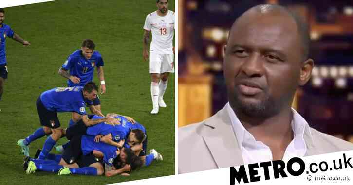 France and Arsenal legend Patrick Vieira explains why he has 'doubts' about Italy's Euro 2020 chances