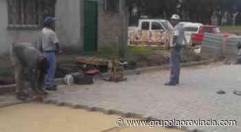 Nuevos pavimentos en Merlo - Grupo La Provincia