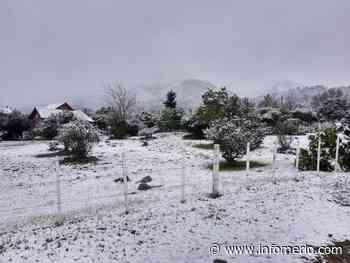 Espectacular nevada en Villa de Merlo y la zona - Infomerlo.com