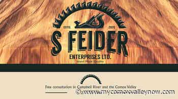 S Feider Enterprises LTD. – German Trained, Island Made - My Comox Valley Now
