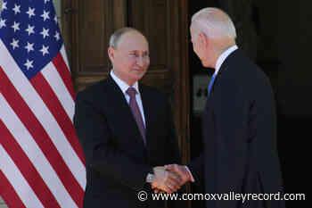 Biden says meeting with Putin not a 'kumbaya moment' - Comox Valley Record