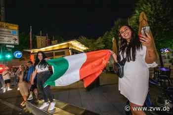 Italien steht im EM-Achtelfinale: Party-Stimmung und Auto-Korso in Fellbach - Homepage - Zeitungsverlag Waiblingen - Zeitungsverlag Waiblingen