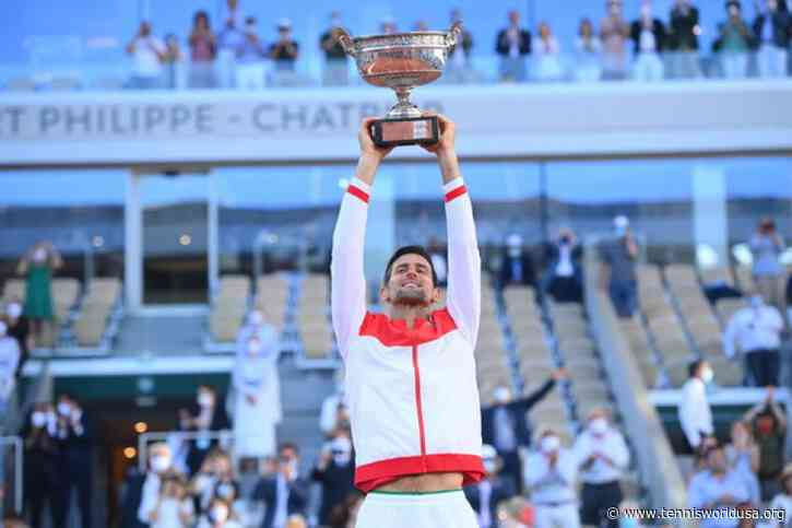 Novak Djokovic writes history as the first player with..
