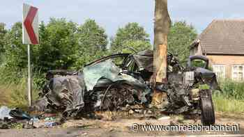 Man (36) overleden na enorme crash tegen boom in Vinkel - Omroep Brabant