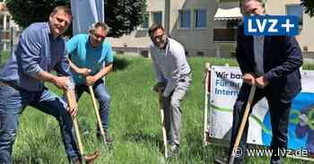 Schnelles Internet per Glasfaser für 4000 Wohnungen in Borna - Leipziger Volkszeitung