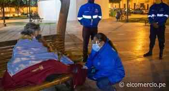 Municipalidad de Lima realizó intervención para rescatar a personas que pernoctan en la calle - El Comercio Perú