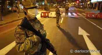 Toque de queda iniciará a las 11 de la noche en Lima Metropolitana y Callao - Diario Correo