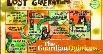 Henny Beaumont on young people, education and Covid-19 – cartoon