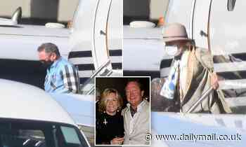 Australia's richest man Andrew 'Twiggy' Forrest has landed back in Australia from Africa