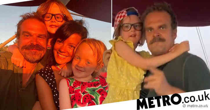 David Harbour gushes about how being a stepdad to Lily Allen's kids changed his life: 'I have a new love I never had'