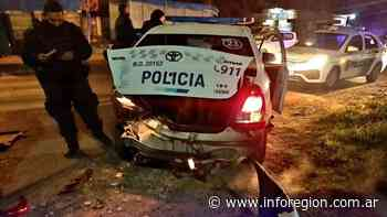 Brown: Dos policías heridos tras un accidente en Burzaco - InfoRegión