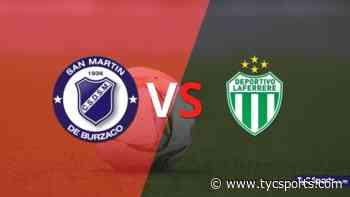 San Martín Burzaco y Laferrere igualaron por 2 en un vibrante partido - TyC Sports