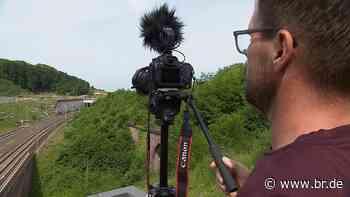Trainspotter aus Aschaffenburg begeistert Youtube-Gemeinde - BR24