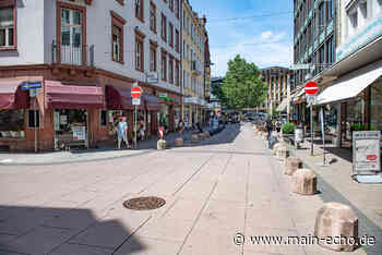 Frohsinnstraßen-Abschnitt in Aschaffenburg bald Fußgängerzone - Main-Echo