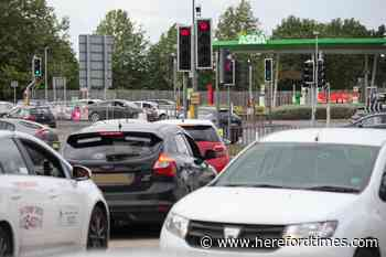 Land Rover driver banned from the roads after Hereford stop