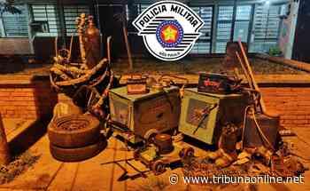 Em Taquaritinga (SP): Força Tática prende indivíduo e recupera parte dos objetos roubados em empresa da cidade - Tribuna On Line