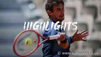 French Open tennis - Highlights: Henri Laaksonen battles past Roberto Bautista Agut at Roland Garros - Eurosport.co.uk