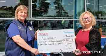 Dumfries Tesco shoppers raise cash for Alzheimer Scotland - Daily Record